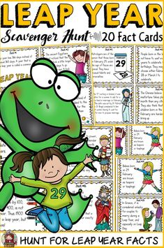 Animal Activities, Class Activities, Holiday Activities, Classroom Activities, Kid Activites, Leap Day Quotes, Leap Year Birthday, Teacher Birthday, Birthday Cards
