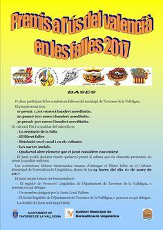 L'Ajuntament de Tavernes premia l'ús del valencià en les falles 2017