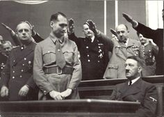 The Adulation of the Fuhrer.