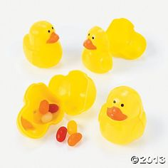 Duck-Shaped Easter Eggs