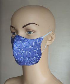 Masca fashion unisex din matase naturala cu un superb imprimeu abstract. Abstract, Summary
