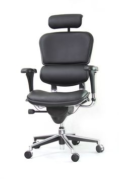 Fotel biurowy Ergomax Ergohuman - skóra