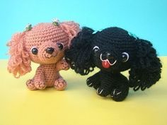 Amigurumi Lion Perritos : Pattern only schnauzer crochet pdf instructions crochet patterns