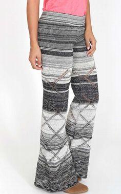 fbe04e37012e0b Goddis Alley City Chic Pants in Black White - bluebird boutique