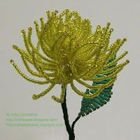 Beading for the very beginners: Beaded flowers and trees