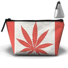 538a95320c351 CANADIAN FLAG MARIJUANA LEAF Zipper Closure Pouch Travel Multi-functio – Mary  Jane Toolbox