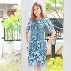 Poppy Lace Dress  ALLSIZE (Upto M) Rp.245.000 Bahan Tile Bordir Lingkar Dada Short Sleeve Dresses, Dresses With Sleeves, Dress Formal, Poppy, Lace Dress, Tile, Instagram, Fashion, Moda