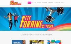 Fête Foraine de Tours - Site Internet dede la Fête Foraine de Tours Prestations :développement,interface graphique  - http://www.d-fuzion.com/realisations-creation-site-internet-bordeaux/fete-foraine-tours/