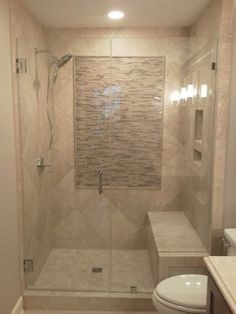 Frameless shower doors - contemporary - bathroom - charleston - by Lowcountry Glass & Shower Door LLC