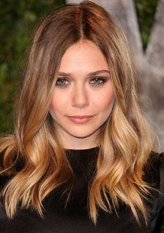 Elizabeth Olsen Bronde Hair Color Formula with Oway Hnectar Color Line! We love the way Hnectar leaves the hair in better condition than when we started. You'll need 6.0, 9.3 and Hbleach Butter Cream Lightener to create her look!