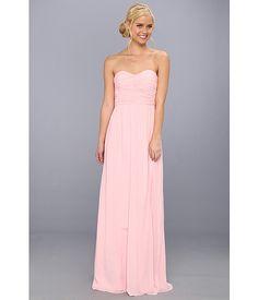 Donna Morgan Strapless Chiffon Gown - Stephanie - Zappos.com Free Shipping BOTH Ways