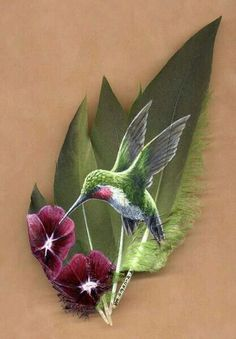 Humming Bird -North American Song Bird Paintings on Feathers, I believe this might be my next tatoo Feather Painting, Feather Art, Painted Rocks, Hand Painted, Hummingbird Tattoo, Tattoo Bird, Hummingbird Painting, Image Nature, Tattoo Studio