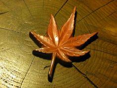 秋金具。 材料:銅  Metal ornament of Autumn Material: Copper  #autumn
