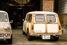 Morris MINI Traveler MK2 (MK1 style/Austin Mini Countryman) by iPhonebox, via Flickr