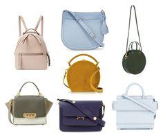 сумки by alexandra-gavrilova-1 on Polyvore featuring мода, Givenchy, Fendi, Marni, Bertoni, Clare V., Kate Spade and ZAC Zac Posen