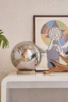 Round Cloche Table Lamp
