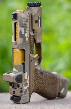Glock with red dot