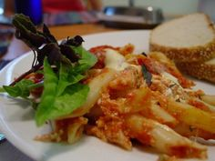 three cheese baked ziti with eggplant recipes dishmaps baked ziti ziti ...