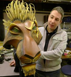 Lion King puppetry- Michael Reilly