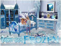 Frozen Room Set by Waterwoman - Sims 3 Downloads CC Caboodle
