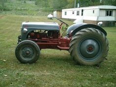 Ricky's tractor