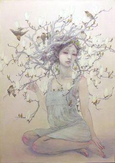 lohrien:    Illustrations by Miho Hirano