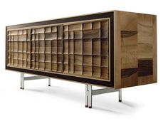 Wooden sideboard with doors A-113   Sideboard by Dale Italia