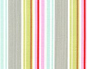 Heather Bailey Fabric /  Nicey Jane /  Slim Dandy Stripe in Pink - Quilt Apparel Fabric