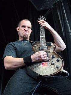 Major guitar face-Mark Tremonti