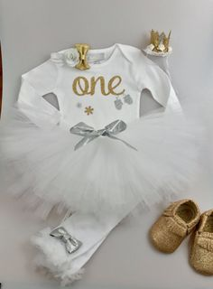 First Birthday Outfits girls - Winter Onederland, more colors available!