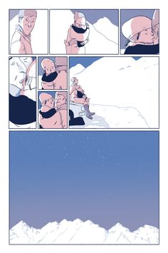 "comicsworkbook:  ""biancabagnarelli:  ""This is my four page contribution to the amazing Nobrow 9 : It's Oh So Quiet.  ""  Bianca Bagnarelli  """