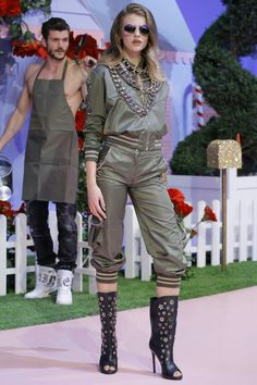 Styling in Your Sweats Military Jacket, Overalls, Pants, Jackets, Dresses, Style, Fashion, Trouser Pants, Down Jackets