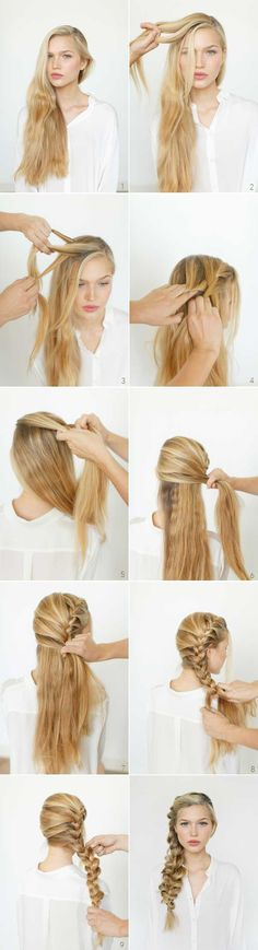 easy romantic braid