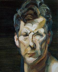 Lucian Freud, Small Portrait III (Self-Portrait), 1963