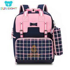 cec01f161 Cute Girls Backpacks Kids Children School Bags For Girls Boys Orthopedic  Waterproof Backpack Child School Bag Mochila Escolar. Product ID: