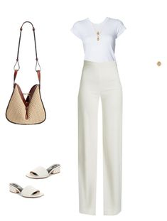 """""""Sin título #2354"""" by paolabw ❤ liked on Polyvore featuring RE/DONE, Brandon Maxwell, ASOS, Retrouvai, Alexander Wang and Loewe"""