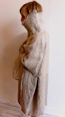 sveta dresher - i wonder if i can make this using other knit materials...hmmmmm....
