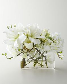 Faux Watergarden Arrangement by John-Richard Collection at Neiman Marcus.  ~ OUTRAGEOUS PRICE + $50 SHIPPING, YIKES!! ~