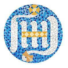 Gaudi's logo for the Sagrada Familia Barcelona, Gaudi, Kids Rugs, Spain, Logo, Decor, Sagrada Familia, Art, Atelier