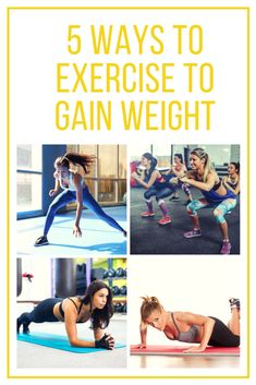 5 ways to exercise to gain weight Weight Gain Workout, Ways To Gain Weight, Lose Weight Running, Losing Weight Tips, Ways To Stay Healthy, Physical Development, Healthy Exercise, Fad Diets, Knee Injury
