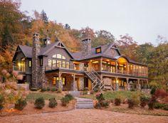 Lake House, Maine..