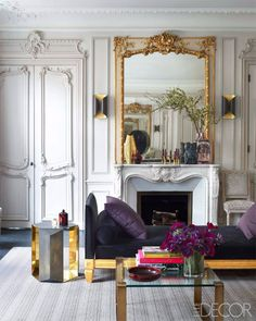 Why Parisian Living Rooms Are the Most Luxurious. For more inspirations go to: livingroomideas.eu