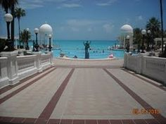 """Hotel Riu Palace, Cancun Mexico  This is the """"isle"""" i walked down...and got married in the white gazebo on the left..."""
