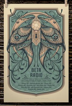 Half Hazard Press Beta Radio And Susquehanna Breakdown Posters