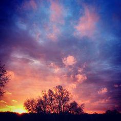 Sunrise in Indiana