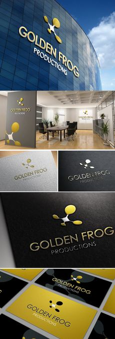 Logo contest for new company Golden Frog Production by Asyraf ©™