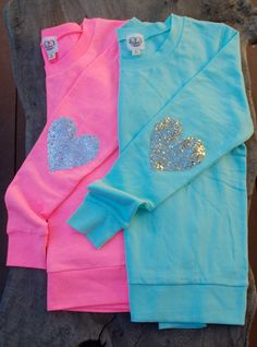 The Dazzle Patch Tiffany Blue Sweatshirt w/Gold by ICaughtTheSun, $55.00
