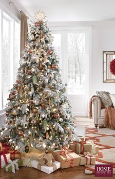 A Christmas tree so beautiful you'll want to keep it up all year long. Our Martha Stewart Living™ Snowy Avalanche Pre-Lit Artificial Tree plus our entire selection of faux Christmas trees have lovely looks and plenty of glowing lights to bring cheer to your home. Find the right one to fit your style and your room, from skinny to snow-flocked. The Christmas tree is such an iconic piece for the holidays. Find your favorite to bring cheer to your home. Available at Home Decorators Collection.