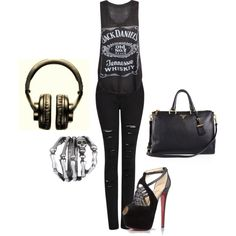 """""""Glammy Rock"""" by methecoolhunter on Polyvore"""