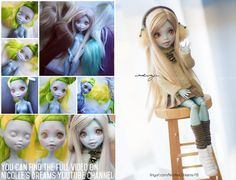 Custom Monster High Lagoonafire [+video] by AndrejA.deviantart.com on @DeviantArt go here to see her make it  youtu.be/dXKy0Y7dyxw